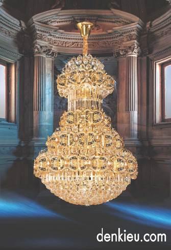 Đèn chùm fale cao cấp KNB 18919B (Ø800×H1400)
